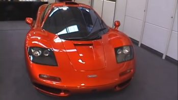 McLaren F1 entrega