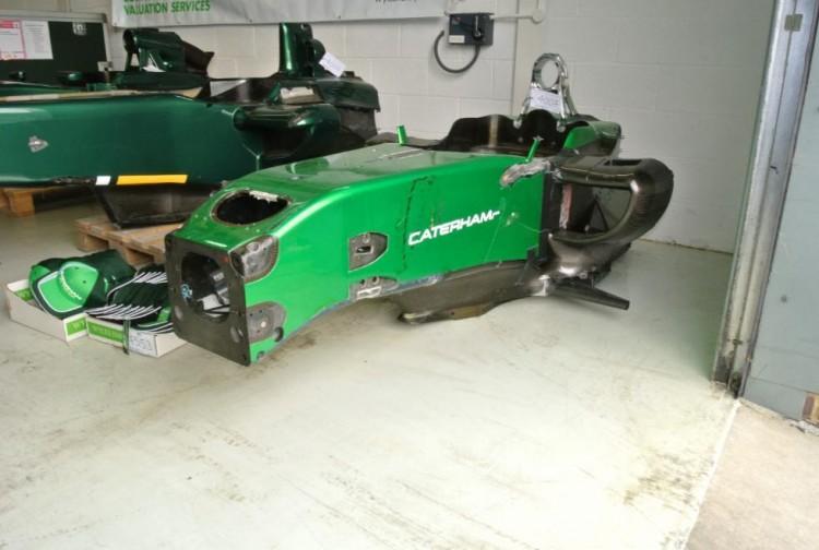 Fórmula 1 Caterham (1)