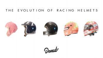 Evolução dos capacetes