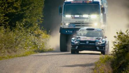 wrc versus rally truck 1