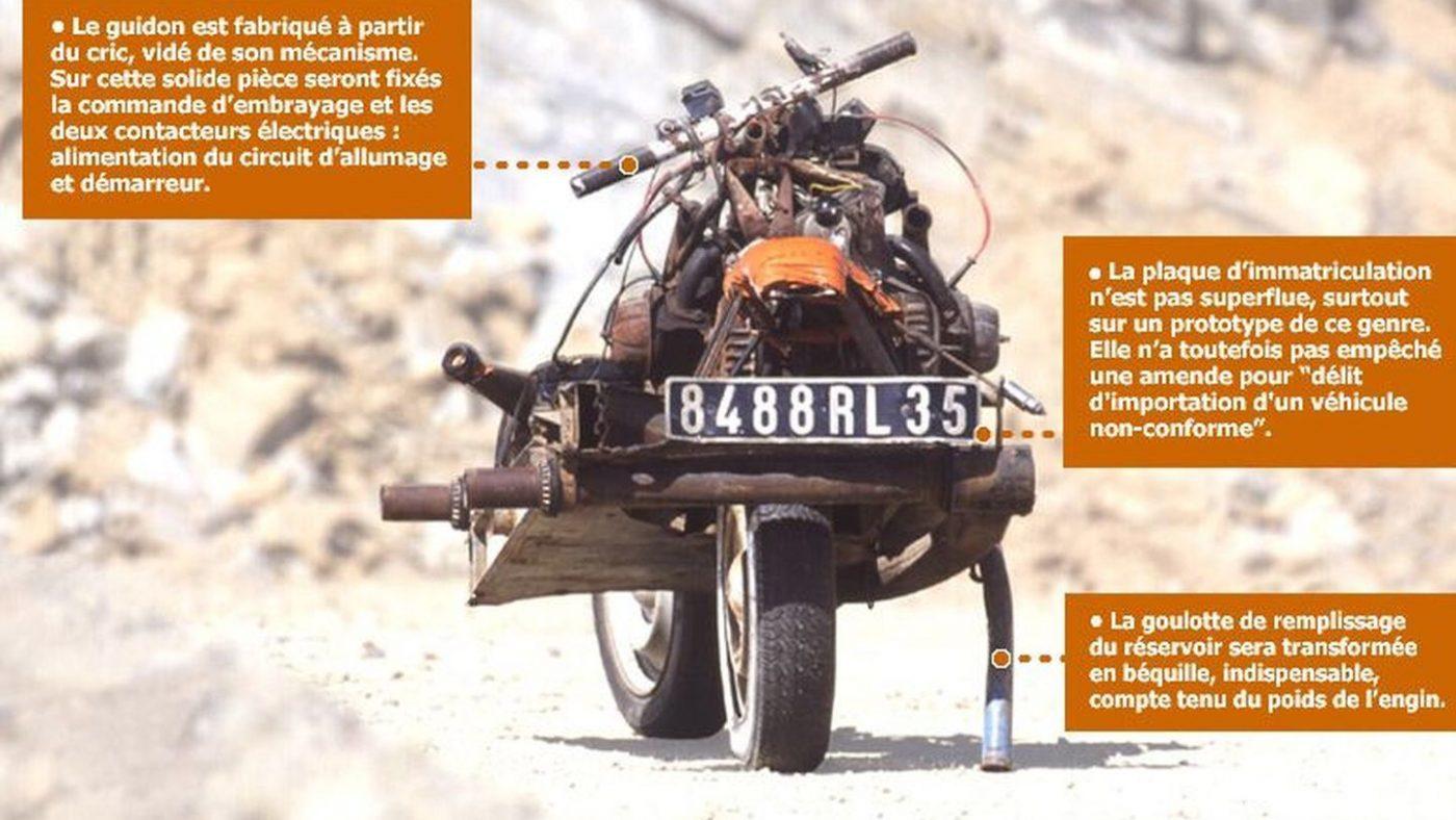 Emile Leray, mota 2CV
