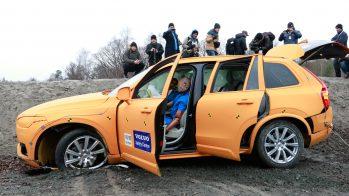 Volvo XC90 crash-test