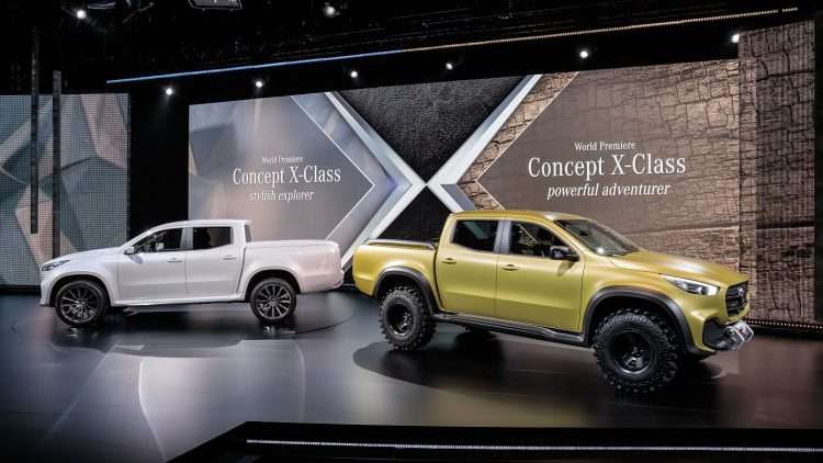 Mercedes-Benz Pickup – Das Konzept; Mercedes-Benz Pickup – The Concept