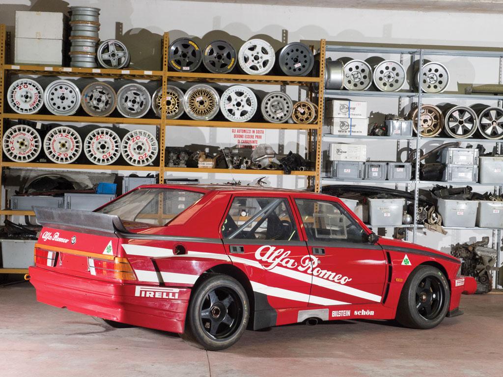 Alfa Romeo 75 Turbo Evoluzione Imsa Ufficiale Vai A Leilao