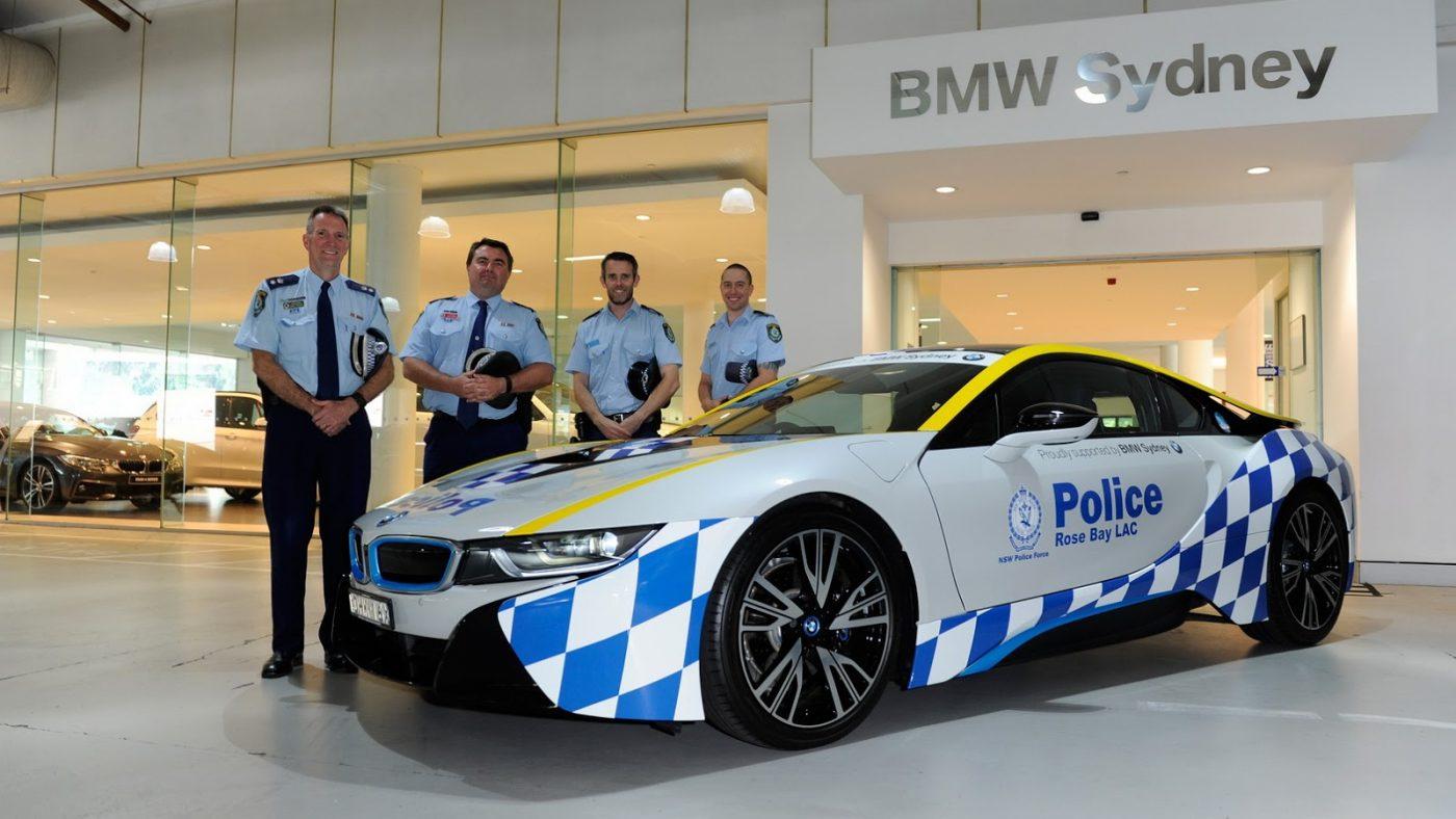 Este Bmw I8 E O Novo Elemento Da Policia Australiana