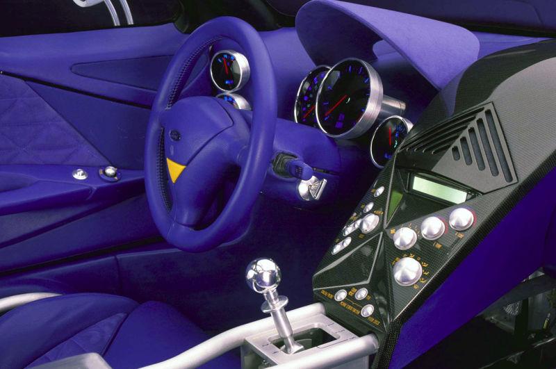 Ford GT90 interior