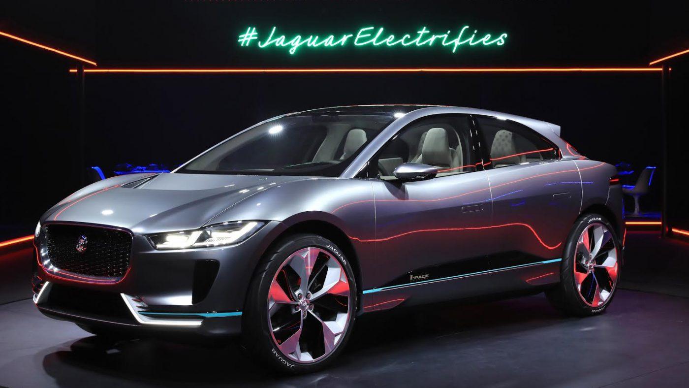 2380c8bc357bb Jaguar I-Pace  100% elétrico «like a sir»