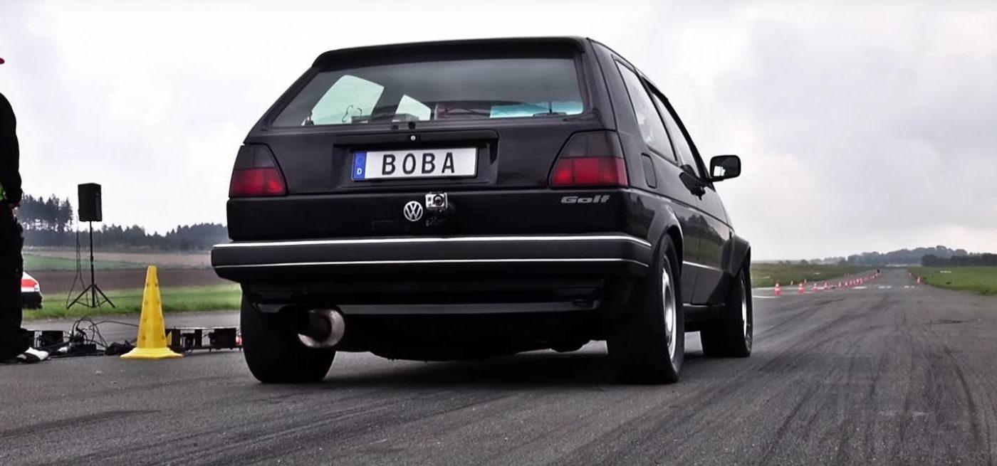 Boba motoring golf Mk2