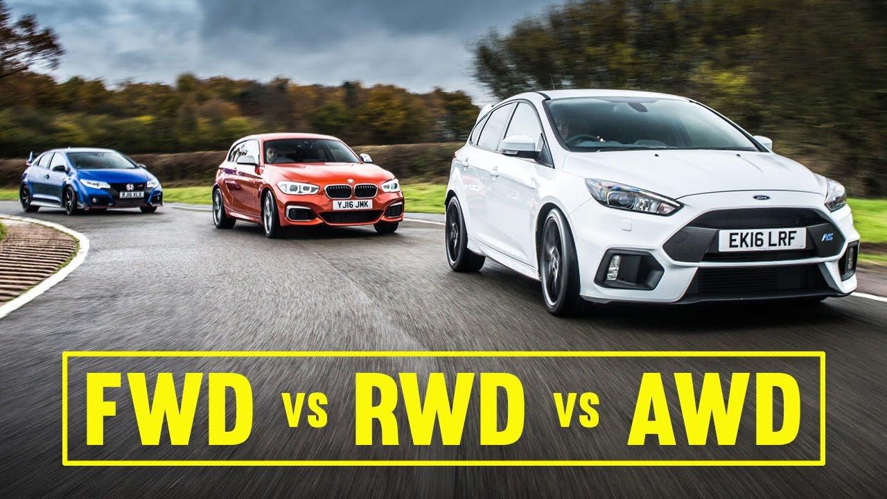 FWD vs RWD vs AWD