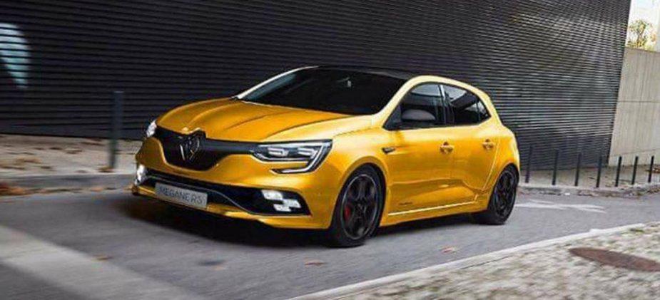 Renault Megane RS - projecção