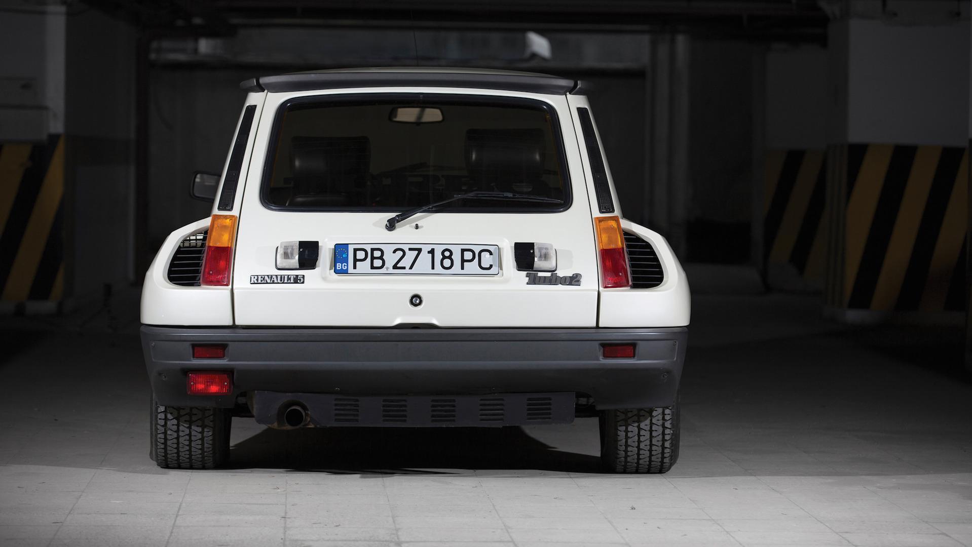 Renault 5 Turbo Ii Com Apenas 5 900 Km A Venda