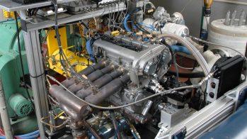 General Motors prototype HCCI motor com múltiplos cilindros
