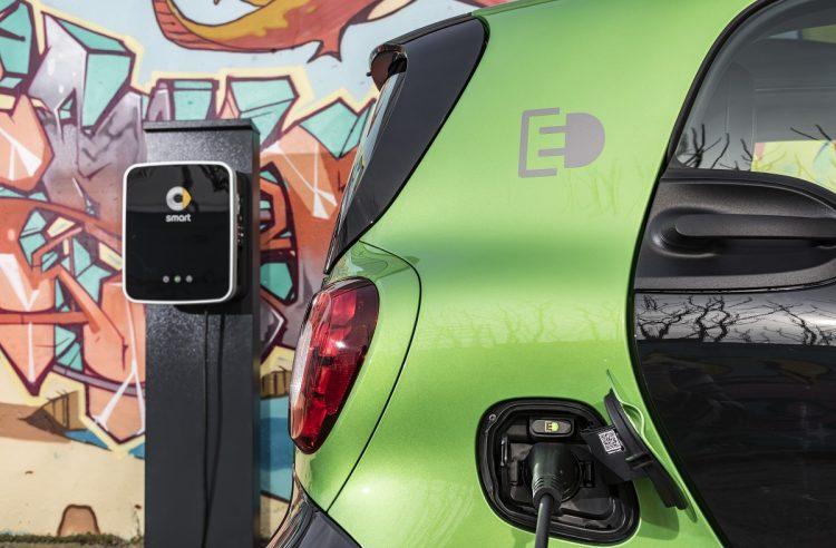 2017 Smart Fortwo Electric Drive - carregar baterias