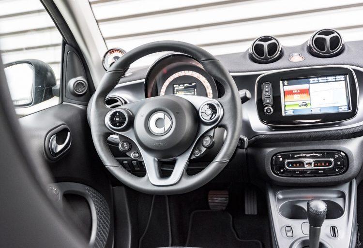 2017 Smart Electric Drive - interior