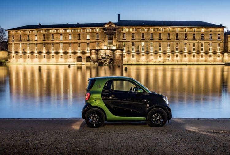 2017 Smart Fortwo Electric Drive - vista de perfil
