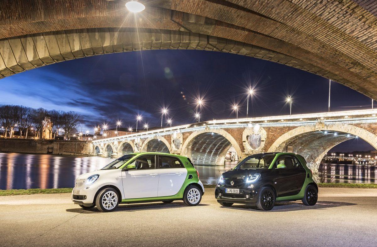 2017 Smart Fortwo e Forfour electric drive elétricos