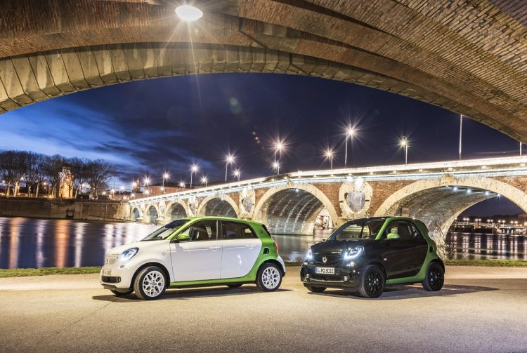 2017 Smart Fortwo Electric Drive e 2017 Smart Forfour Electric Drive