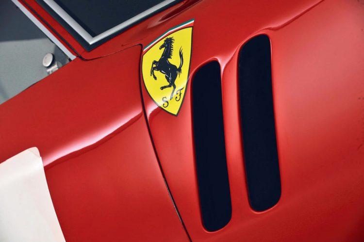 Ferrari 250 GTO, 1962, pormenor