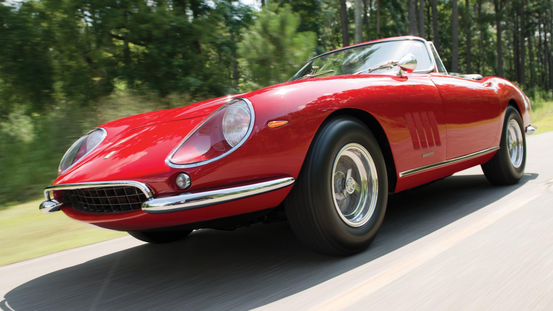1967 Ferrari 275 GTB 4S NART Spider