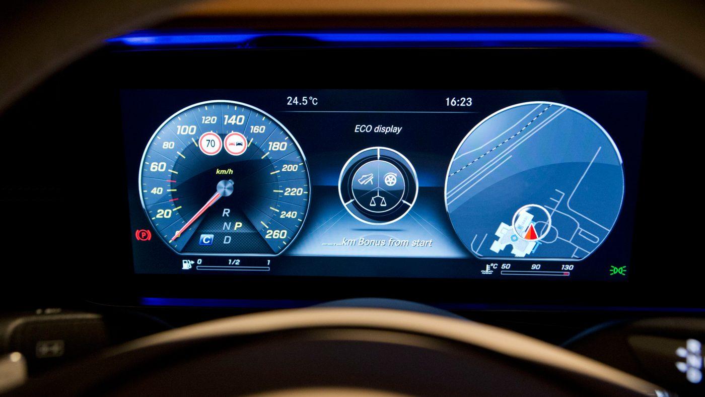 Mercedes Classe E interior