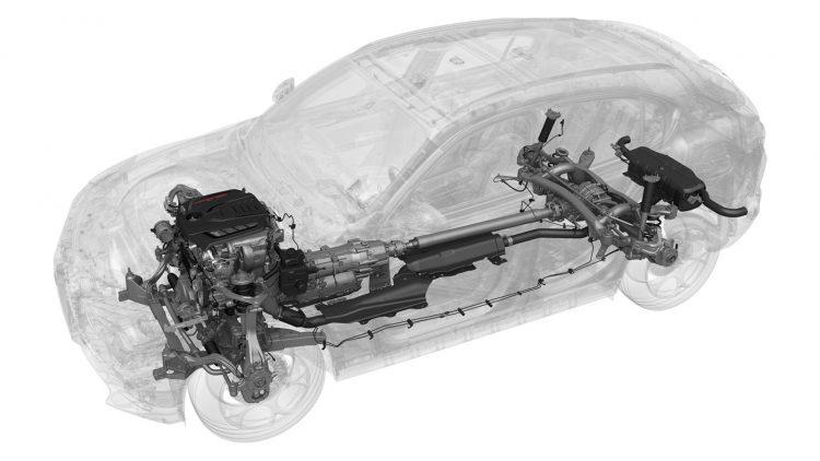 2017 Alfa Romeo Stelvio chassis