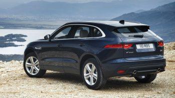 2017 Jaguar F-Pace - traseira