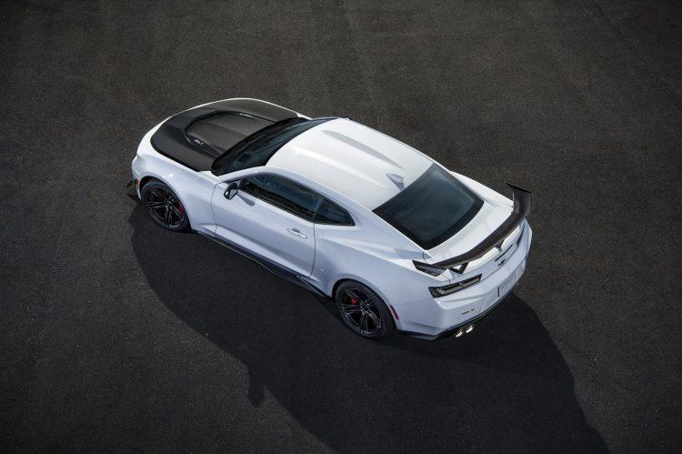 2018 Chevrolet Camaro ZL1 1LE - topo