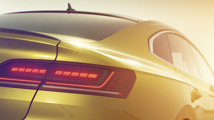 Volkswagen Arteon - teaser traseira