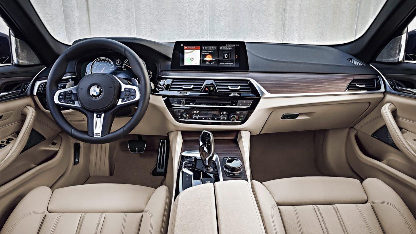 Interior do BMW Série 5