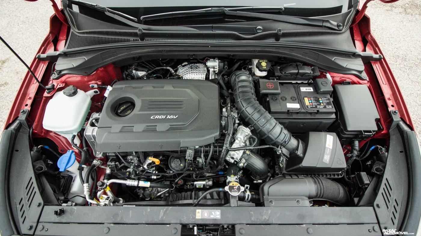 Hyundai i30 1.6 CRDi — motor