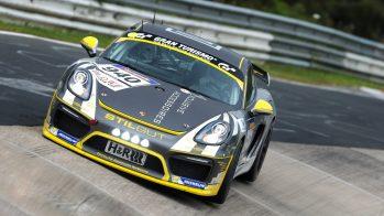 Porsche Cayman GT4 Clubsport em Nurburgring