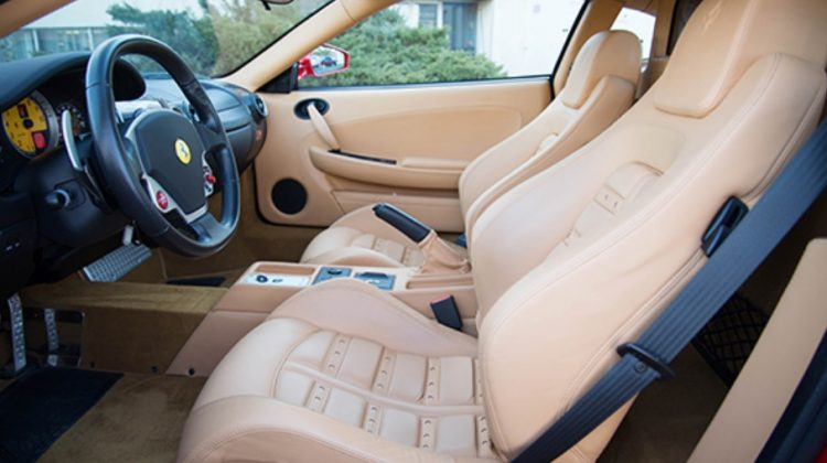 Ferrari F430 de Donald Trump - interior