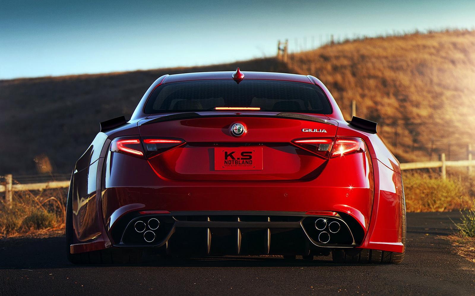 Alfa Romeo Giulia Quadrifoglio em versão «esteróides ...