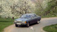 Mercedes-Benz Coupé der Baureihe C 123 (1977 bis 1985). Foto aus dem Jahr 1981. ; Mercedes-Benz coupé in the C 123 (1977 to 1985) model series. Photo from 1981.;
