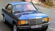 Mercedes-Benz Coupé der Baureihe C 123 (1977 bis 1985). ; Mercedes-Benz coupé in the C 123 (1977 to 1985) model series.;