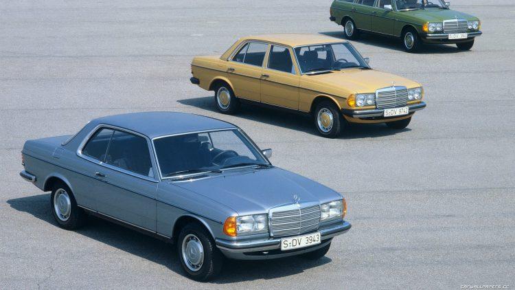 1977 Mercedes W123 e C123