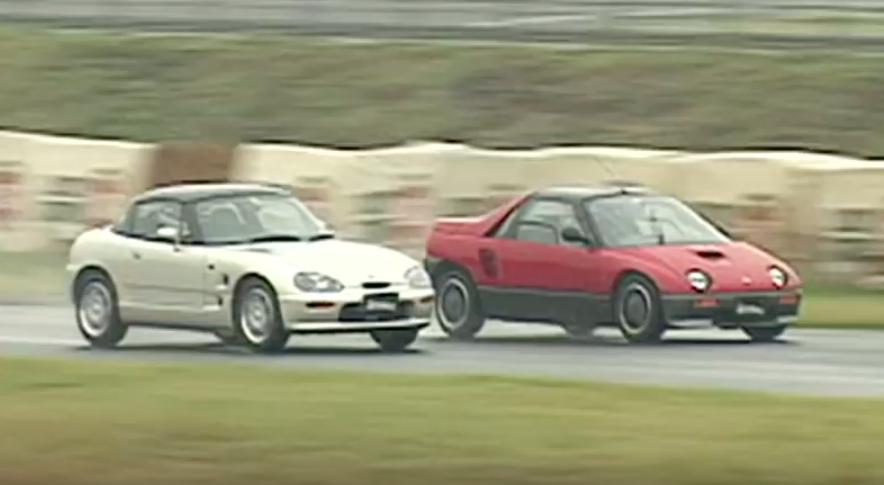 1992 Suzuki Cappuccino vs Autozam AZ-1