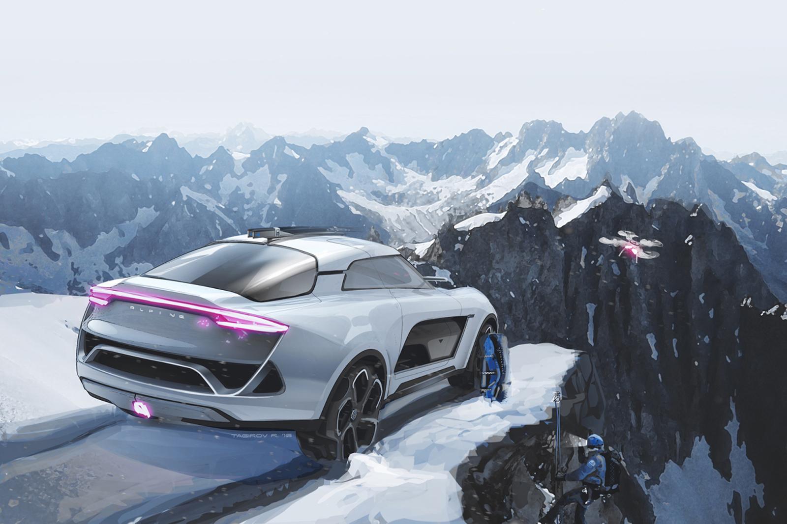 Rashid Tagirov Alpine SUV