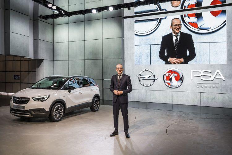 2017 Opel Crossland X em Genebra - Karl-Thomas Neumann