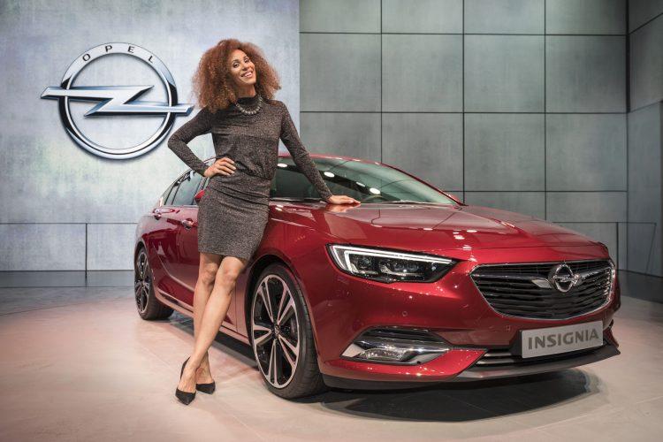2017 Opel Insignia em Genebra