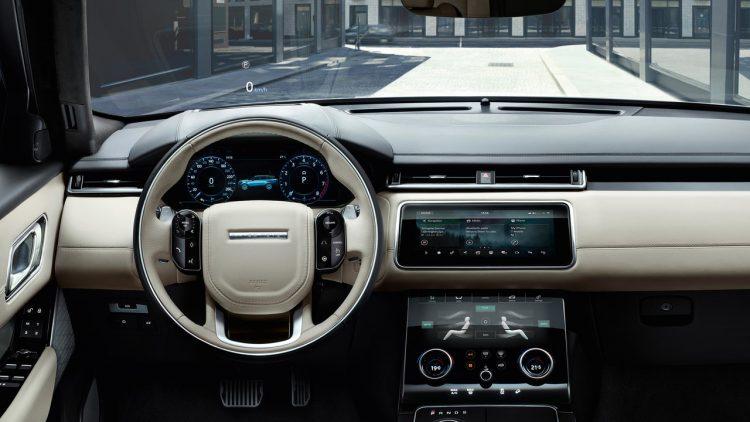2017 Range Rover Velar interior
