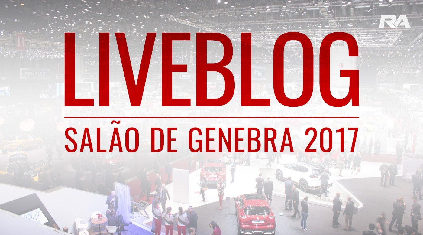 LIVE BLOG: Salão de Genebra 2017