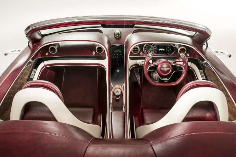 2017 Bentley EXP12 6e interior