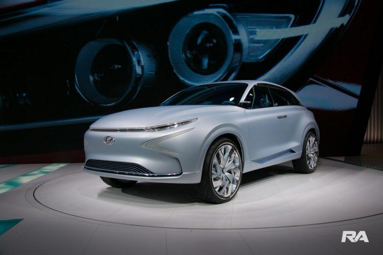 2017 Hyundai FE fuel cell em Genebra