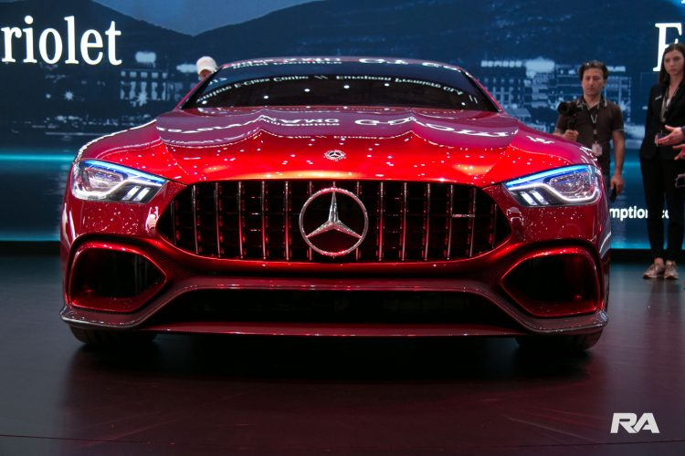 2017 Mercedes-AMG GT concept em Genebra