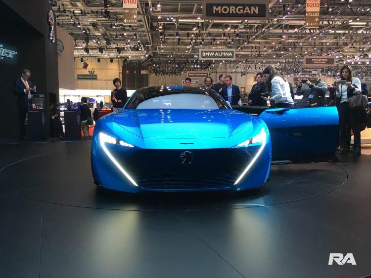 2017 Peugeot Instinct em Genebra