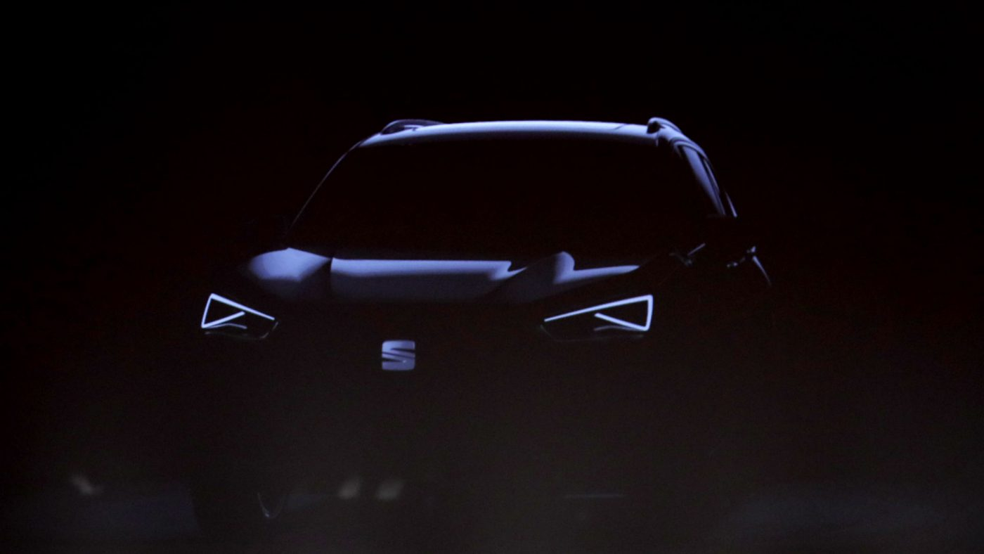 2017 SEAT SUV 7 lugares teaser