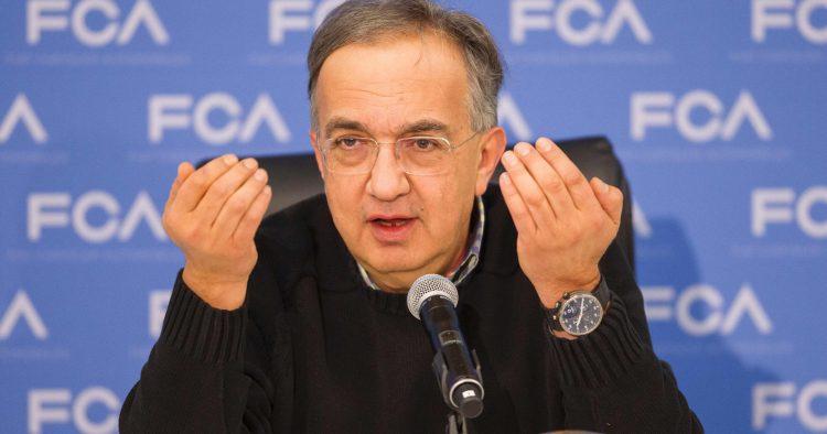 Sergio Marchionne em Genebra 2017
