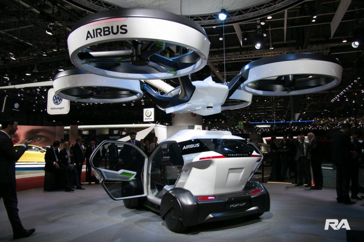 2017 Italdesign Airbus Pop.Up em Genebra