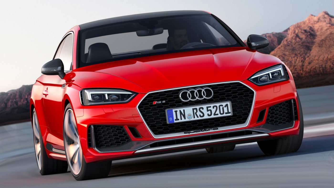 2017 Audi RS 5 frente